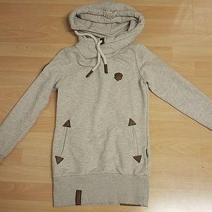 fa899b8339 Naketano Sweaters - Naketano Darth X Oatmeal Hoodie.